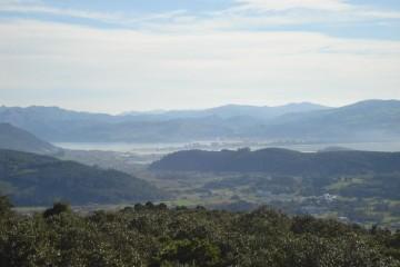 Monte Cincho: mirador de Trasmiera