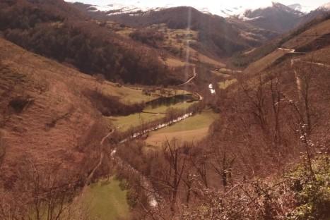 Río Nansa y Monte de Troncos