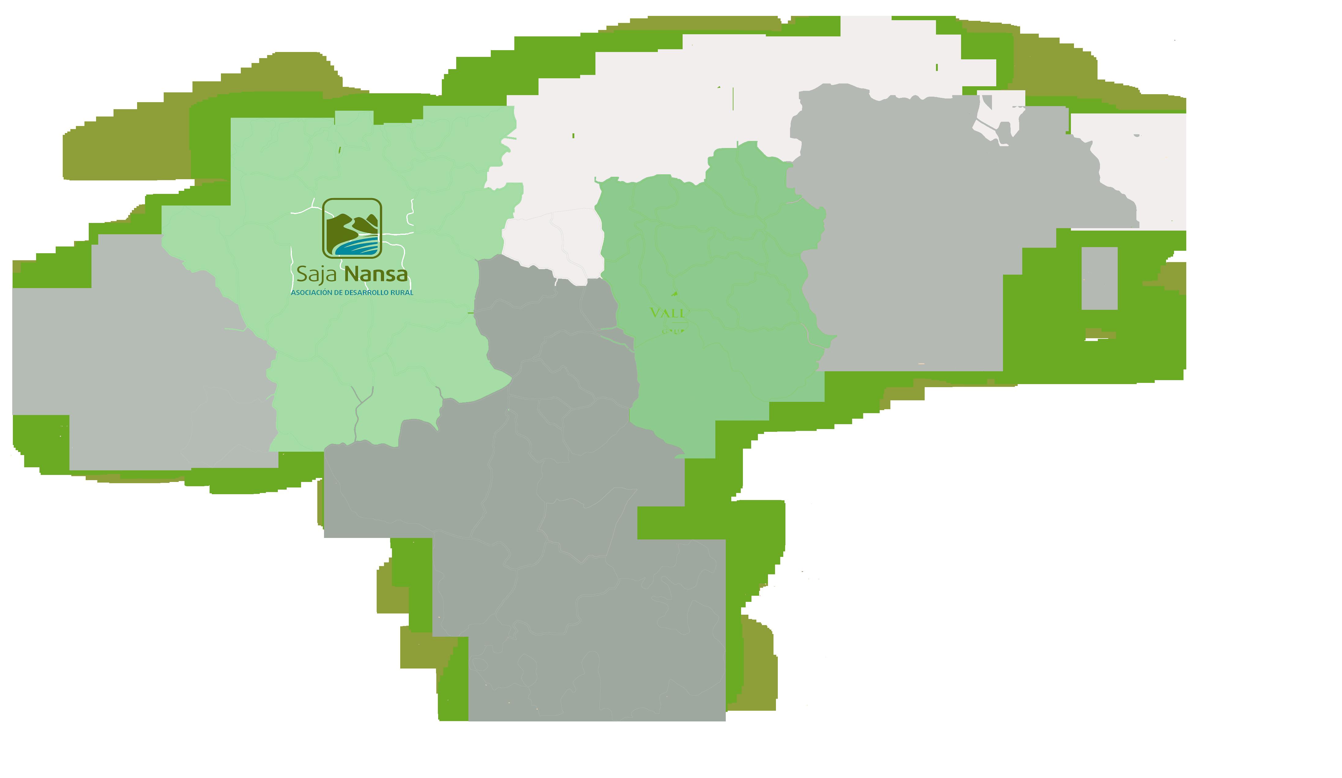 Mapa GAL Saja Nansa