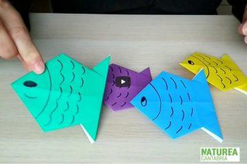 #Natureaencasa #papiroflexia Hoy hacemos peces