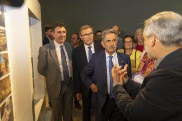 El presidente subraya el acuerdo sobre patrimonio rupestre con La Dordoña como ejemplo de la necesaria cooperación europea