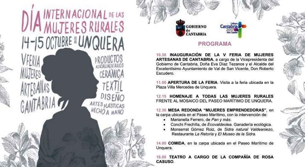 Programa V Feria Mujer Rural