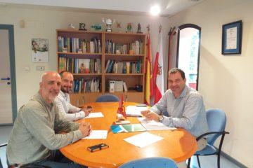 Reunión de seguimiento del convenio con el CIMA