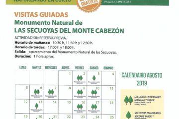 #Natureandoencorto aumentamos las posibilidades de visita guiada al Monumento Natural de las Secuoyas