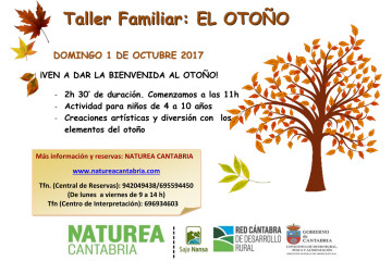 Taller familiar: el otoño