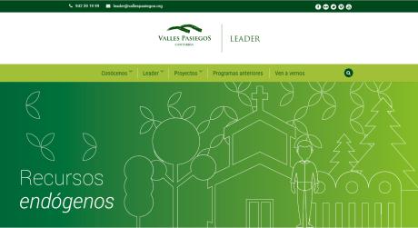 Nueva web Valles Pasiegos