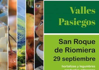 Colaboramos con el Mercado de Productos Pasiegos en San Roque de Riomiera que se celebra el próximo domingo 29 de septiembre