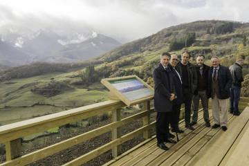 Obras de adecuación para uso público de espacios naturales en Liébana