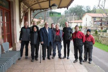Oria visita el Centro de Interpretación de la Red Natura 2000 en los Valles Pasiegos